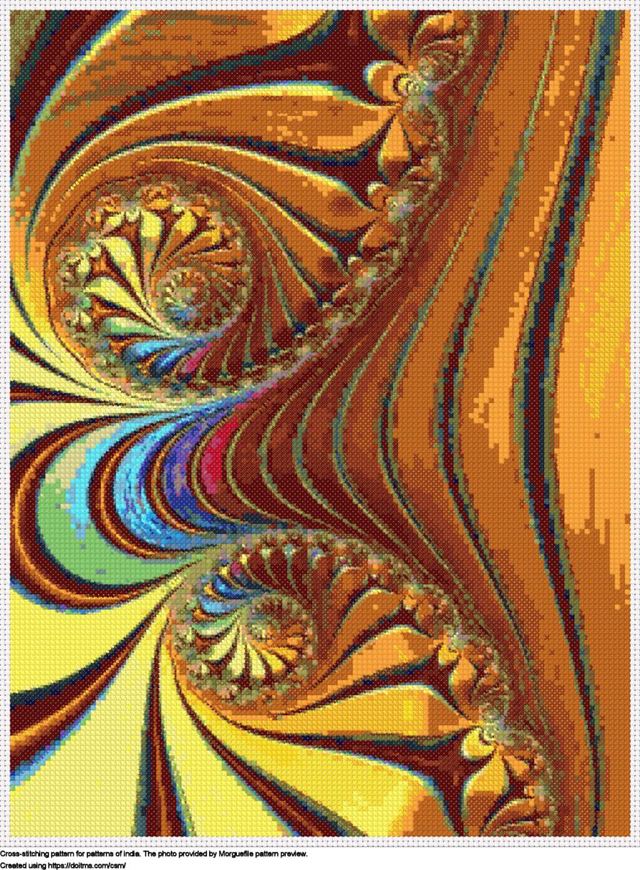 Free Patterns cross-stitching design