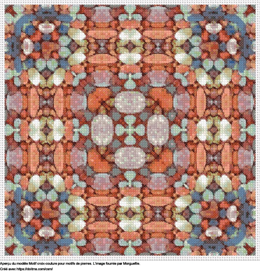 Motif de point de croix Patterns gratuit