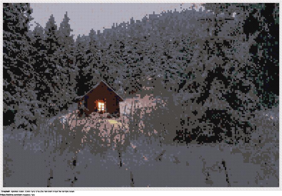 צריף ביער החורף