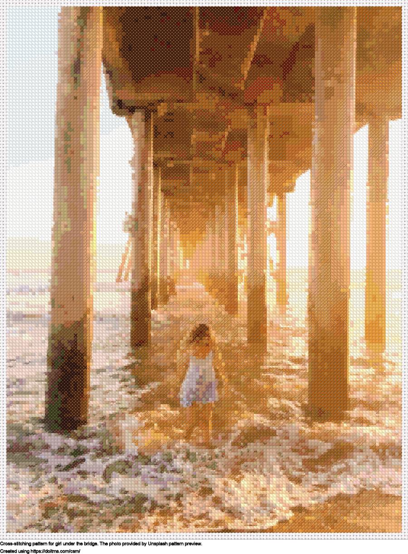 Girl under the bridge