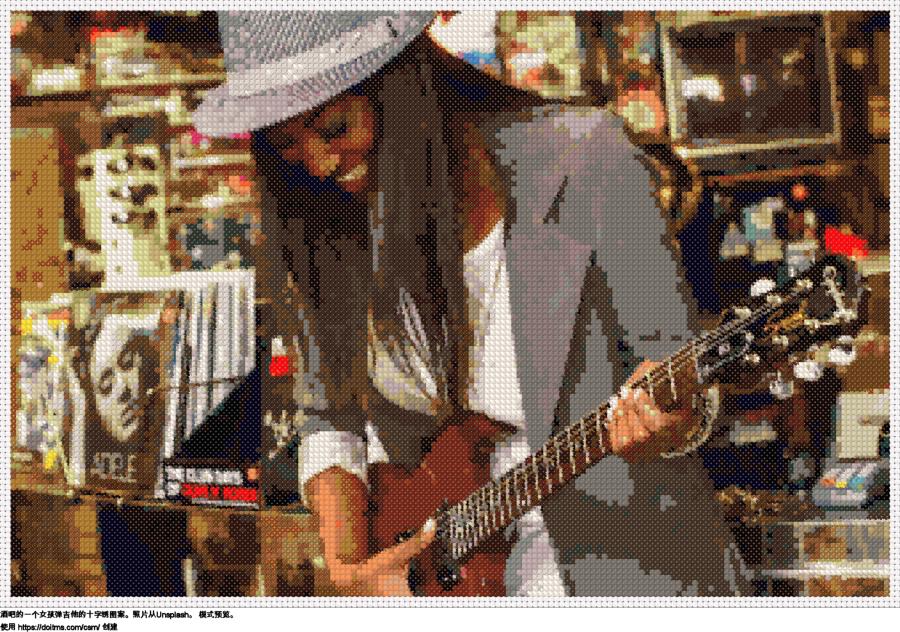 女孩与吉他