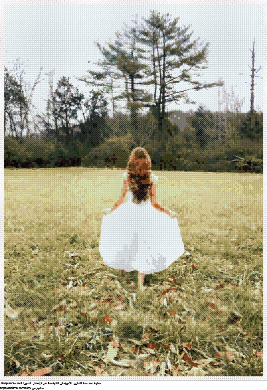 .الأميرة في الغابةنمط عبر خياطة ل